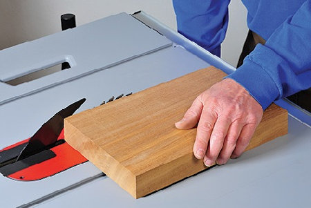 This is how high your table saw blade should be