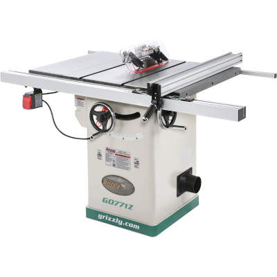 """Grizzly G0771Z 10"""" 2 HP Hybrid Table Saw"""